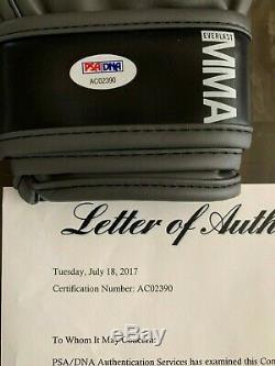 100% Authentic Autographed Glove PSA LOA CONOR MCGREGOR & FLOYD MAYWEATHER Auto