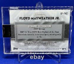 2017 Floyd Mayweather Jr. Topps Dynasty Patch Auto 10/10
