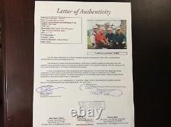 Arnold Palmer, Jack Nicklaus, Tom Watson, Raymond Floyd Signed 11x14 Photo