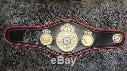 Authentic Floyd Mayweather jr signed WBA Half Size Belt With WBC Coa