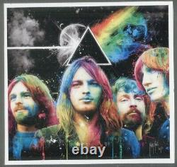Autograph ORIGINAUX signed Group PINK FLOYD Roger WATER Nick MASON David GILMOUR