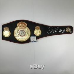 Autographed/Signed FLOYD MAYWEATHER JR. WBA Boxing Championship Belt Beckett COA
