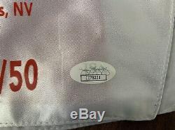Boxing Floyd Mayweather Jr Signed Boxing Shorts JSA authentication