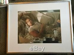 Brad Pitt Hand Signed 11x14 Photograph Autograph PSA DNA COA True Romance Floyd