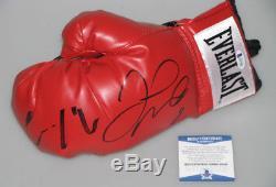 CONOR McGREGOR & FLOYD MAYWEATHER Hand Signed Boxing Glove +PSA BAS COA