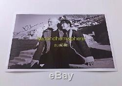 David Gilmour HAND SIGNED PHOTO autographed Samson Pink Floyd Waters print E
