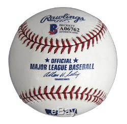 David Gilmour Pink Floyd Authentic Signed OML Baseball Autographed BAS #A06762
