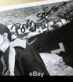 David Gilmour Pink Floyd Hand Signed Photo Polly Samson Rare Roger Waters