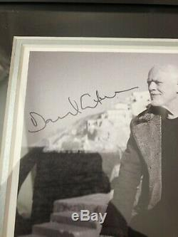David Gilmour Pink Floyd Polly Samson Hand Signed Photo Framed Display Rare