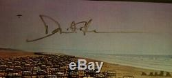 David Gilmour Pink Floyd Signed LP Record Album withCOA