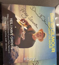 David Gilmour Polly Samson Autograph Signed Yes I Have Ghosts CD Pink Floyd