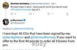 David Gilmour Polly Samson & Romany Signed YES, I HAVE GHOSTS CD PINK FLOYD