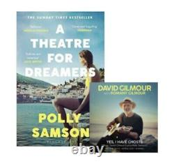 David Gilmour Polly Samson SIGNED, YES, I HAVE GHOSTS Sold Out pink Floyd