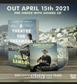 David Gilmour Polly Samson Signed YES, I HAVE GHOSTS Sold Out pink Floyd