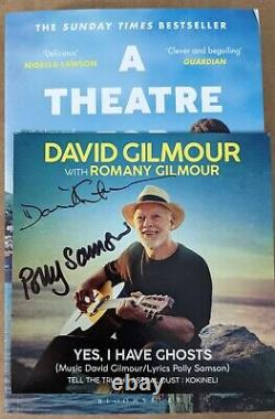 David Gilmour & Polly Samson Yes I Have Ghosts Signed Autographed CD Pink Floyd