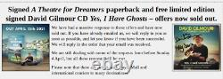 David Gilmour & Polly Signed Autographed Yes I have Ghosts CD + book PINK FLOYD