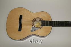 David Gilmour Signed Autograph Fender Brand Acoustic Guitar Pink Floyd, Rare
