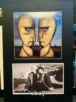David Gilmour Signed Autographed Photo Display Rare Pink Floyd Division Bell