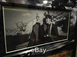 David Gilmour Signed BECKETT Photo Samson Pink Floyd Rattle That Lock LP Album