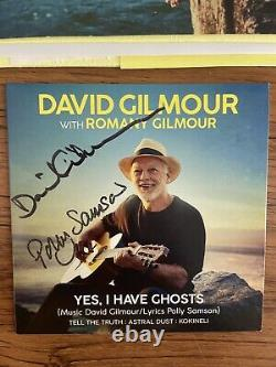 David Gilmour Signed CD Yes I Have Ghosts Autographed Pink Floyd Rare