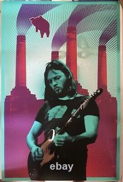 David Gilmour Super-rare Ap Autographed Foil Print #8/25 Pink Floyd