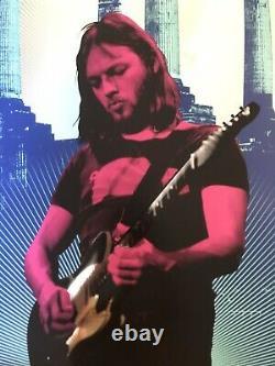 David Gilmour Super-rare Ap Autographed Foil Screen Print #3/20 Pink Floyd