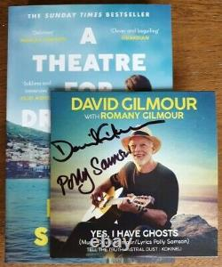 David Gilmour Yes I Have Ghosts Rare Signed CD Pink Floyd Romany Polly Samson