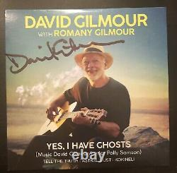 David gilmour signed CD yes i have ghosts autographed pink floyd