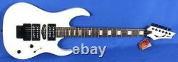 Dean Michael Batio MAB-3 Classic White Electric Guitar with Floyd Rose Signed