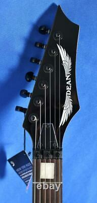 Dean Michael Batio MAB3 Classic Black Electric Guitar with Floyd Rose Signed
