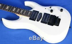 Dean Michael Batio MAB3 Classic White Electric Guitar with Floyd Rose Signed