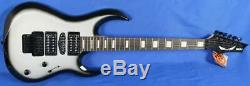 Dean Michael Batio MAB3 Silver Burst Electric Guitar with Floyd Rose Signed