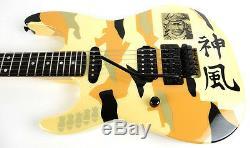 ESP George Lynch Kamikaze-III Hand Signed Left-handed MIJ LH Floyd Rose Guitar