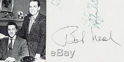 Elvis Presley 2nd Manager Bob Neal autograph signed Wanda Jackson & Floyd Cramer