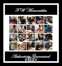 FLOYD MAYWEATHER BOXING HAND SIGNED PHOTO AUTHENTIC + COA 12x8