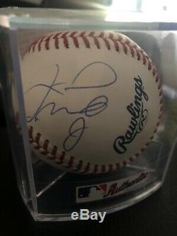 FLOYD MAYWEATHER JR. AUTOGRAPHED SIGNED MLB BASEBALL PSA/DNA COA Af71551