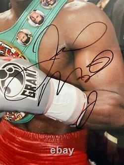FLOYD MAYWEATHER JR Signed Autograph 11x14 Boxing Photo PSA/DNA #AJ23775