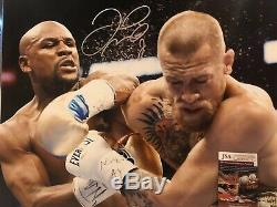 FLOYD MAYWEATHER JR Signed Autograph Auto 16x20 Picture Photo Boxing JSA Witness