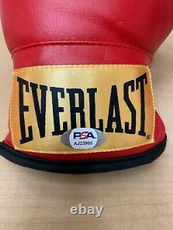 FLOYD MAYWEATHER JR Signed Autograph Everlast Jr Sized Boxing Glove PSA #AJ23905