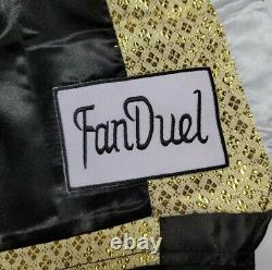 FLOYD MAYWEATHER Jr. Autographed HUBLOT, FAN DUEL Boxing Trunks. Witness PSA/DNA