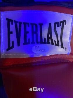 FLOYD MAYWEATHER Signed Autographed Everlast Boxing Glove with JSA COA