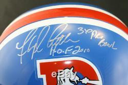 Floyd Little SIGNED Broncos F/S Helmet +HOF 10 +3 x Pro Bowl PSA/DNA AUTOGRAPHED