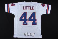 Floyd Little Signed Denver Broncos Jersey (JSA COA) 5xPro Bowl Running Back HOF
