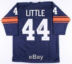 Floyd Little Signed Syracuse Orangemen Jersey (Schwartz COA) Broncos HOF R. B