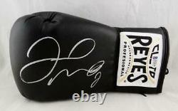 Floyd Mayweather Autographed Black Cleto Reyes Boxing Glove Beckett Authentic