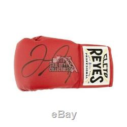 Floyd Mayweather Autographed Cleto Reyes Red Boxing Glove BAS COA