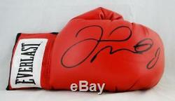 Floyd Mayweather Autographed Everlast Red Boxing Glove JSA CC Authentication
