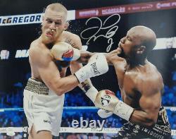 Floyd Mayweather Autographed Signed Boxing 16x20 Photo vs. McGregor (JSA COA)