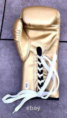 Floyd Mayweather Autographed/Signed Cleto Reyes Glove PSA Certified