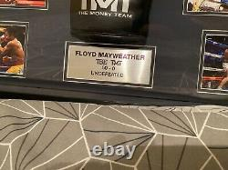 Floyd Mayweather Hand Signed Boxing Glove With COA In Dome Display